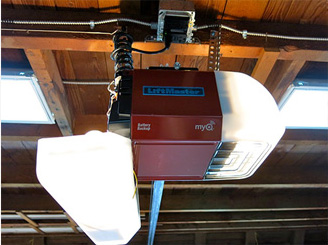 Garage Door Opener Installation by Aero Garage Door in Chantilly